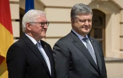 Порошенко и Штайнмайер обсудили запуск Северного потока-2