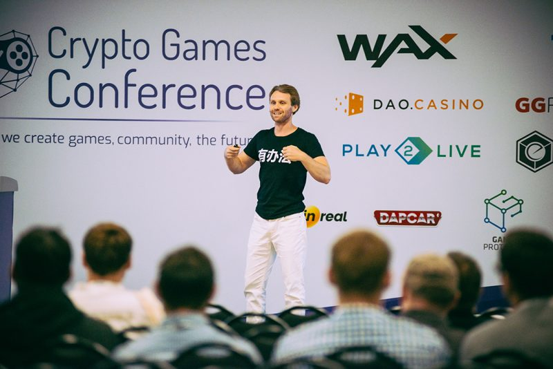 Представители CryptoKitties, PUBG и Waves выступили на Crypto Games Conference в Киеве