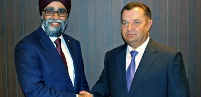 Канада намерена увеличить объемы военной помощи Украине