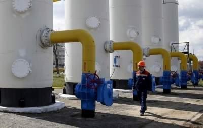 Запасы газа Украины выросли на треть