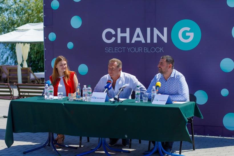 Марк Гинзбург и Гиорги Сигуа презентовали первый в Украине блокчейн-фестиваль