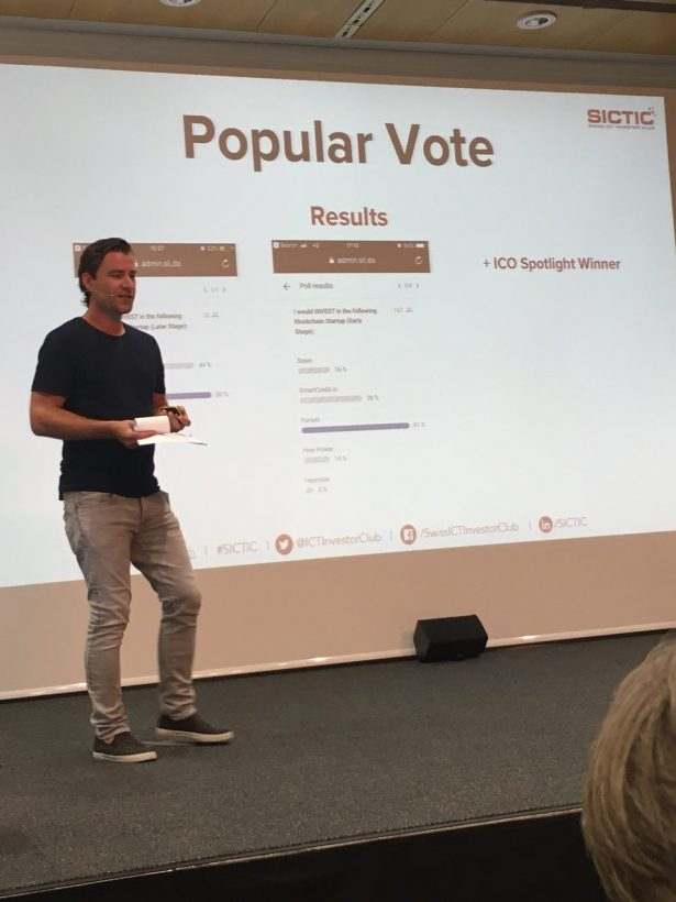Проект системы репутации на блокчейне выиграл Blockchain Challenge в рамках Crypto Valley Conference