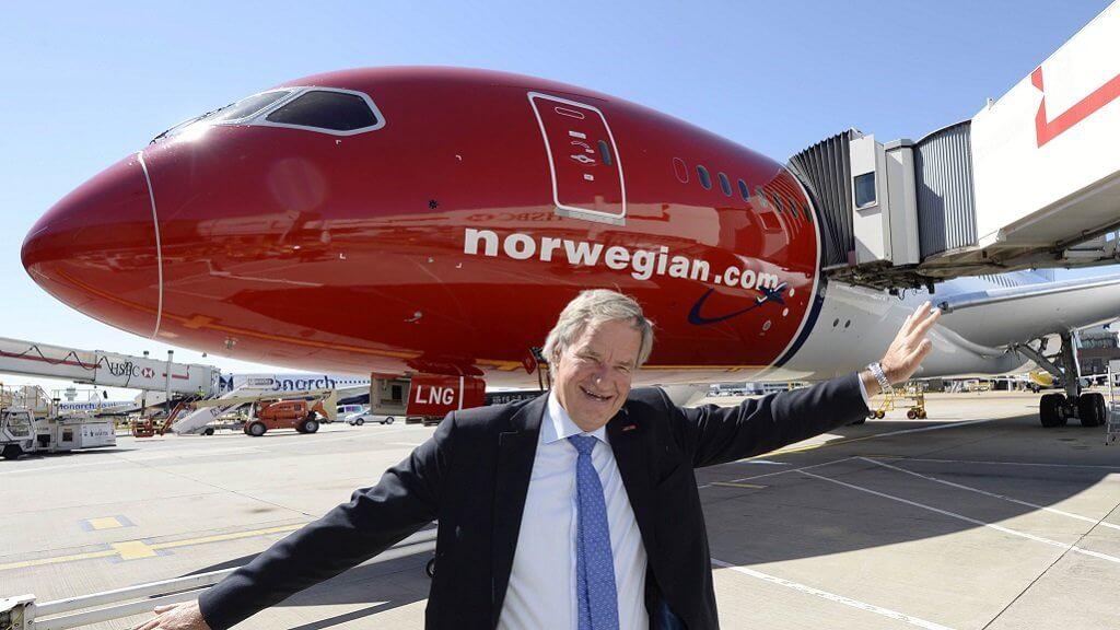CEO Norwegian Air запустит криптобиржу и позволит покупать авиабилеты за Биткоин