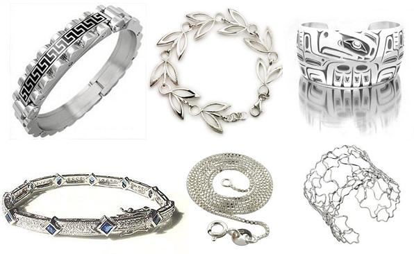 Большой выбор изделий из серебра