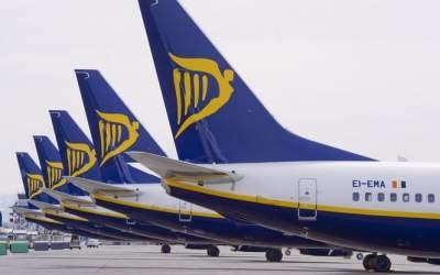 Ryanair запустит новый рейс из Киева