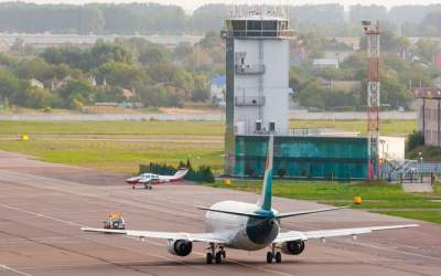 Аэропорт Киев нарастил пассажиропоток в полтора раза