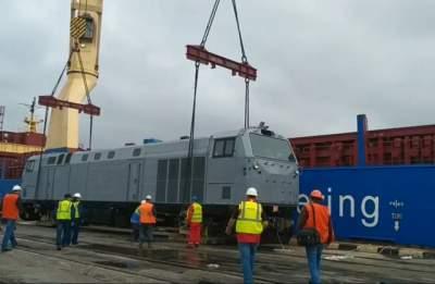 General Electric отправила второй локомотив для Укрзализныци