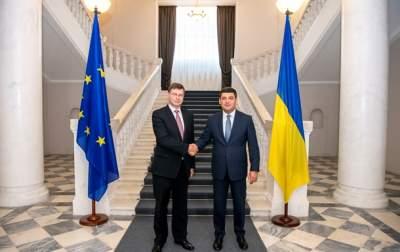 Украина и ЕС подписали кредитное соглашение