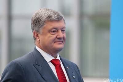 Доходы Порошенко выросли в восемь раз
