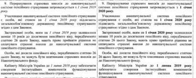 Накопительные пенсии в Украине внедрят не ранее 2020 года
