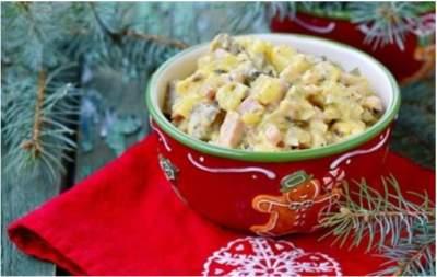 Популярный салат Оливье обойдется на 28% дороже