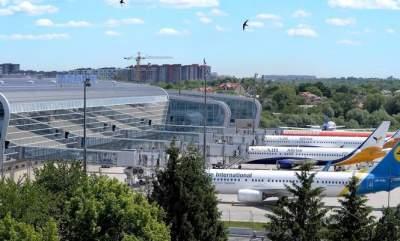 Международный аэропорт Львов увеличил пассажиропоток