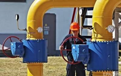 Украина вдвое снизила импорт газа
