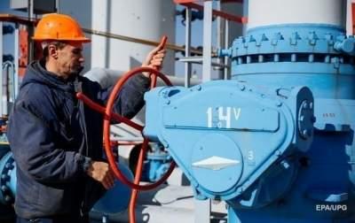 Украина уменьшила суточный отбор газа из хранилищ