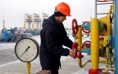 В украинских хранилищах запасы газа ниже прошлогодних