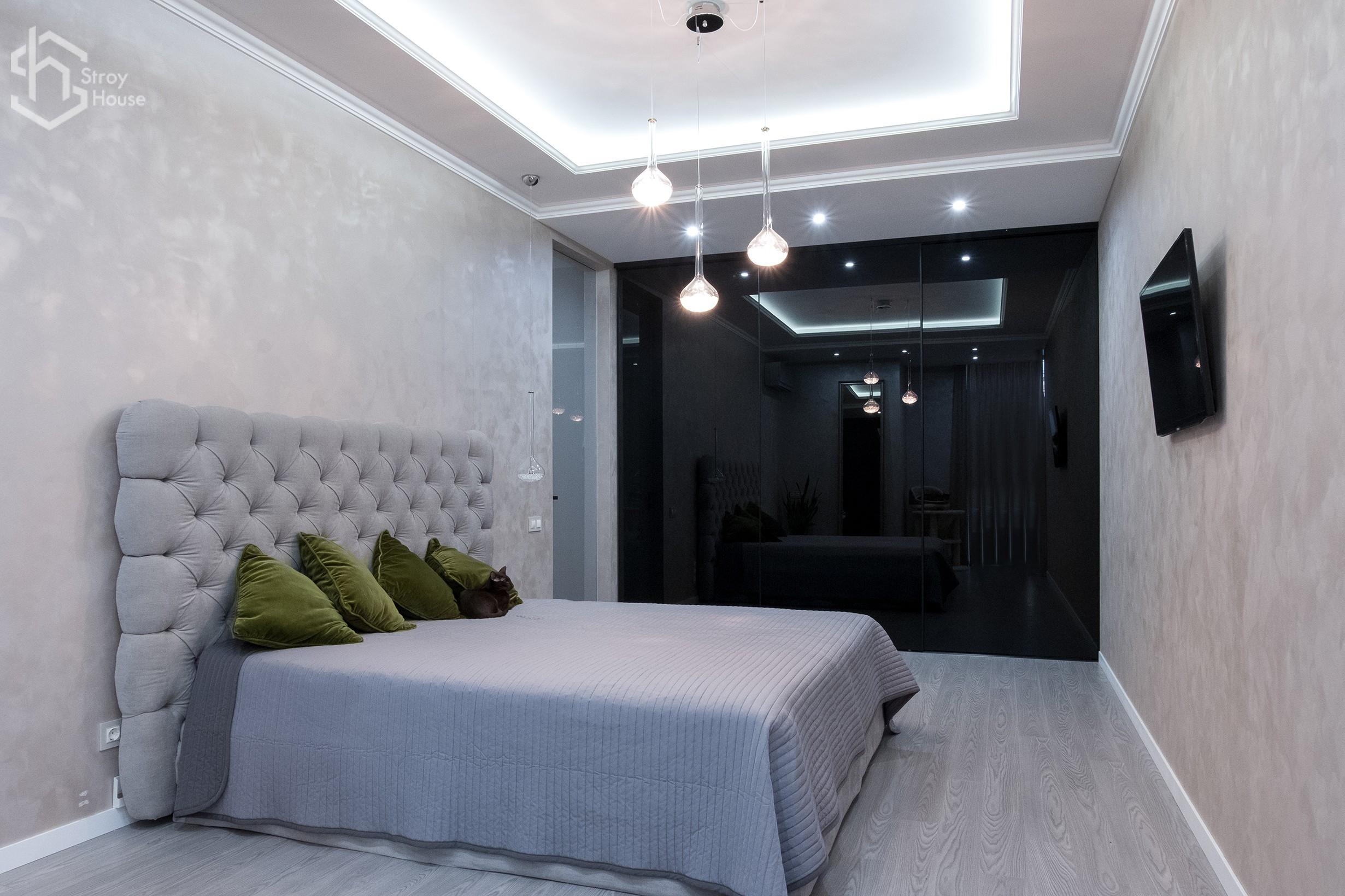 Красивый ремонт квартиры под ключ по проекту от stroyhouse.od.ua