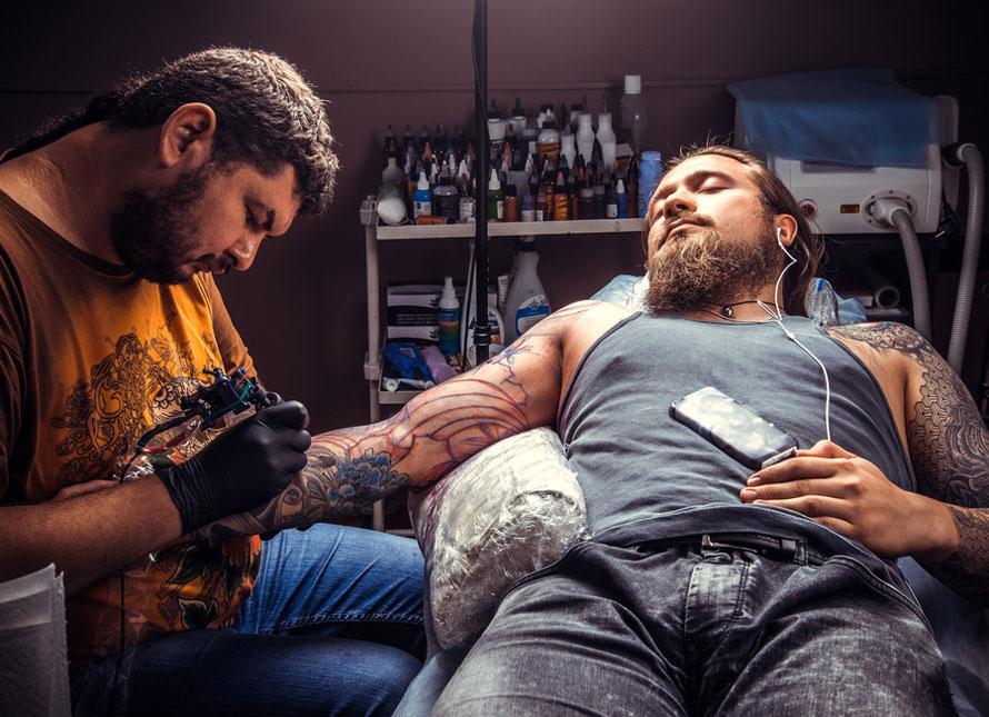 Средства дезинфекции для обработки тату-салонов