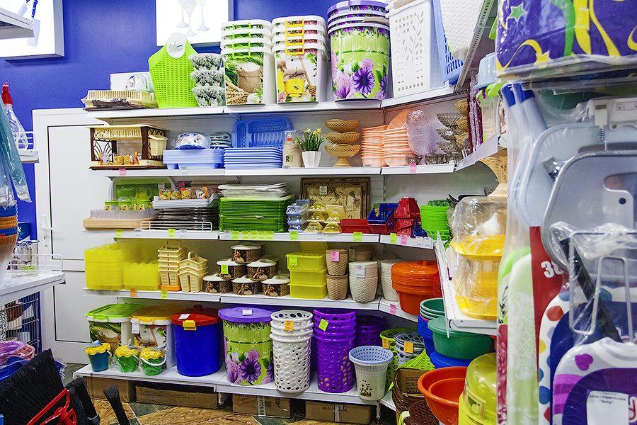 Обширный ассортимент хозяйственных товаров в магазине хозтоваров plastic-shop.in.ua