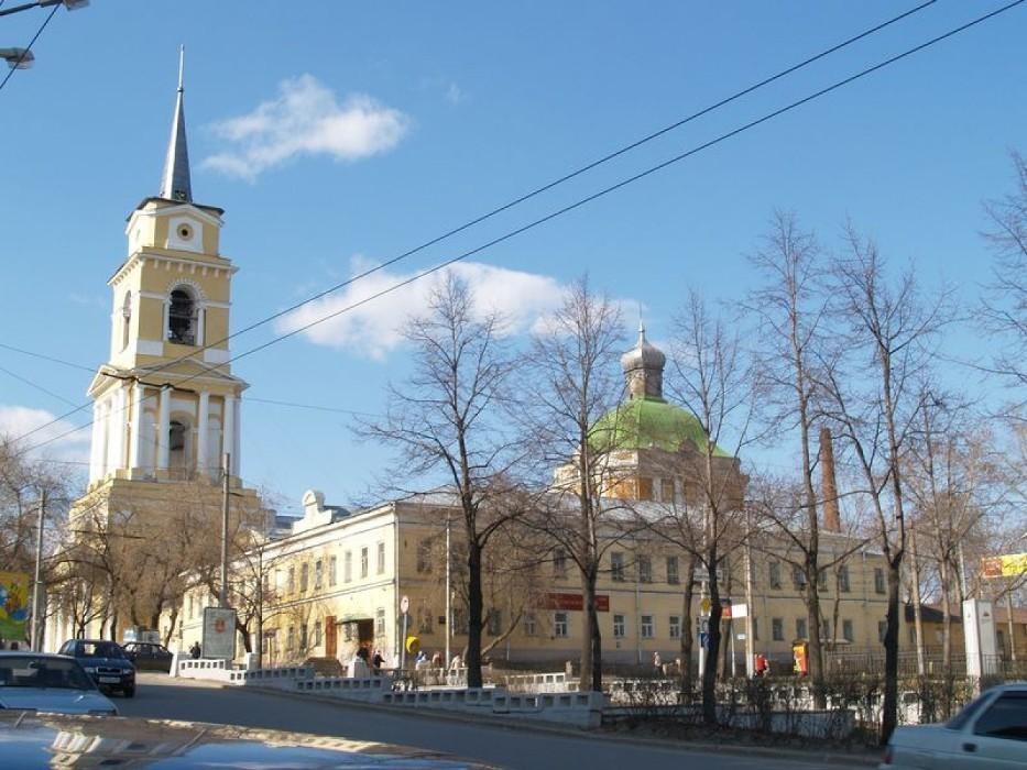 Городской округ город Пермь достопримечательности