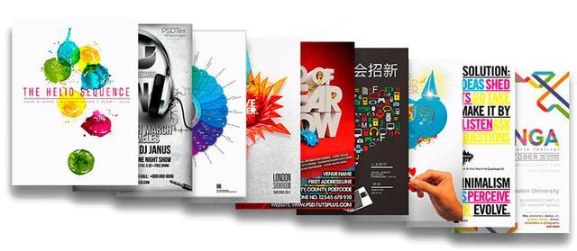 Разработка дизайна плакатов в Санкт-Петербурге