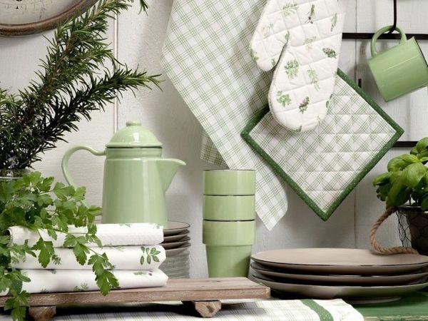 Как выбрать текстиль для кухни