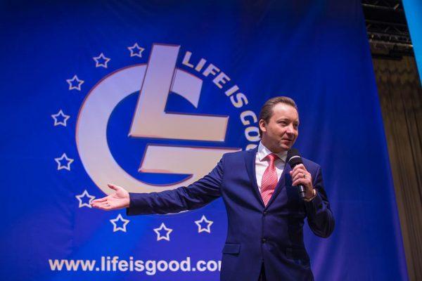 Президент холдинга Life is Good